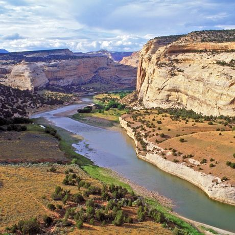 Fluss im Colorado National Monument