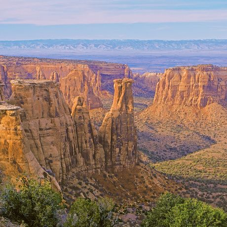Independence Rock im Colorado National Monument