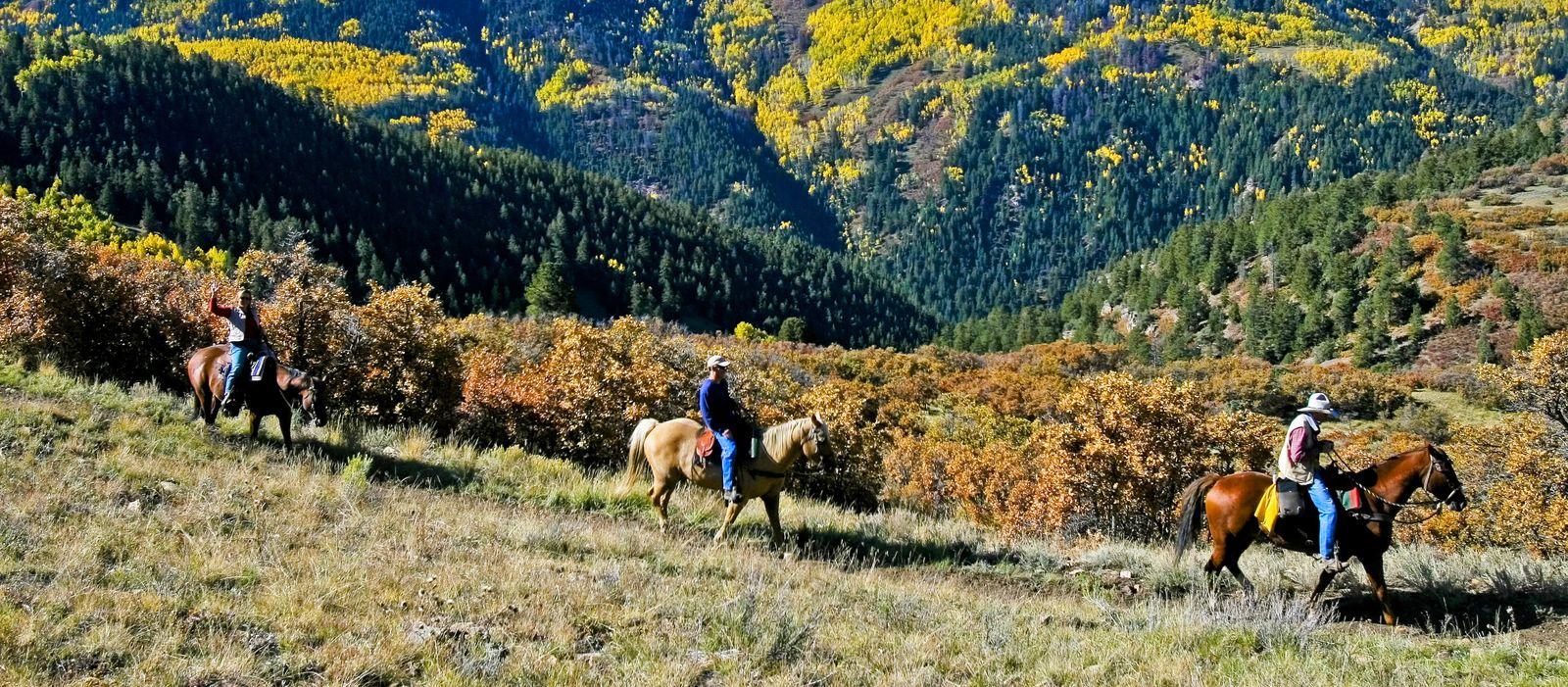Reiten in Aspen, Colorado