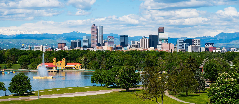 Skyline von Denver, Colorado