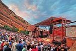 Freilichtbühne des Red Rocks Amphitheaters
