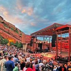 Amphitheatre im Red Rocks Park