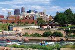 Der Confluence Park in Denver Colorado