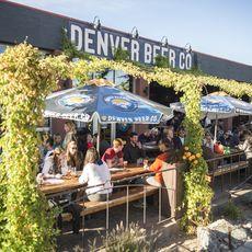 Biergarten der Denver Beer Company