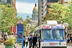 die Innenstadt mit öffentlichen Verkehrsmitteln