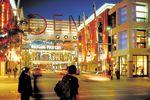 Abendliches Shopping in Denver, Coloeado