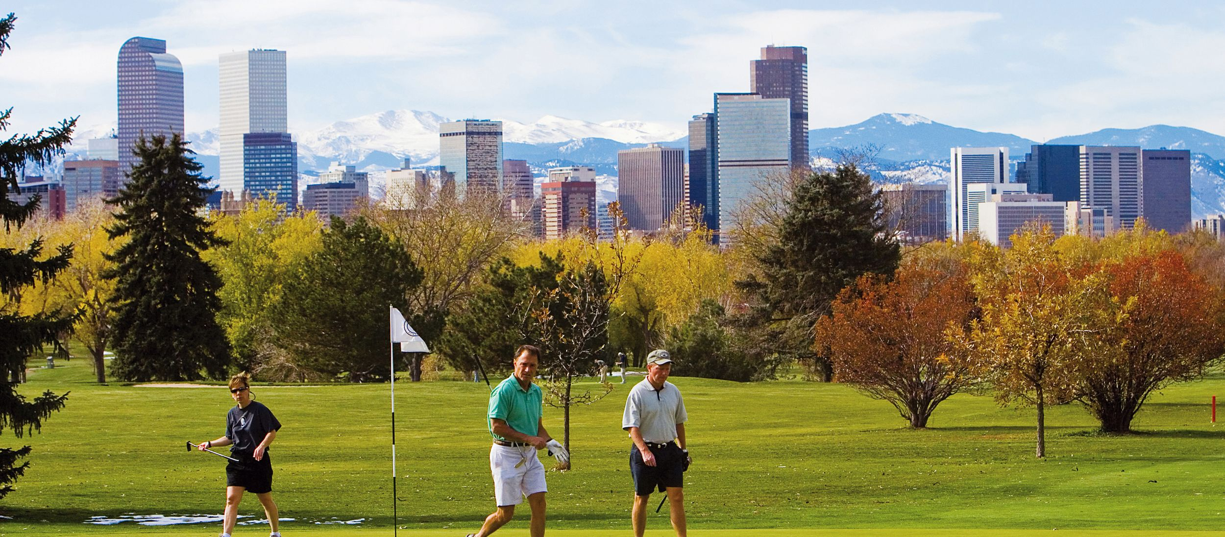 Golfer in Denver