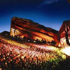 Konzert im Red Rocks Amphitheater in Denver, Colorado