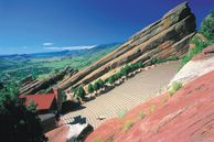 Red Rocks Amphitheater in Denver