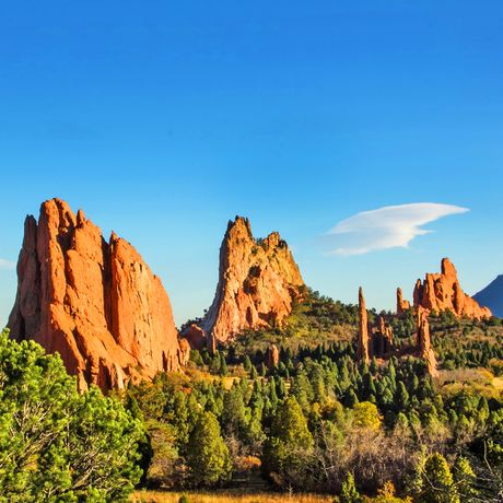 Garden of the Gods im Central Garden of Colorado Springs, Colorado