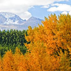 Herbst im Rocky Mountain National Park