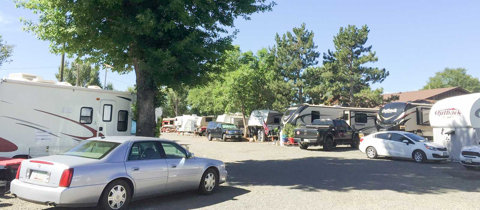 Prospect RV Park in Denver