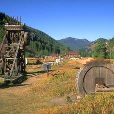 The Land of the Yankee Fork State Park and National Forest Historic Area brings to life Idaho's frontier mining history with historical interpretation and recreational opportunities.