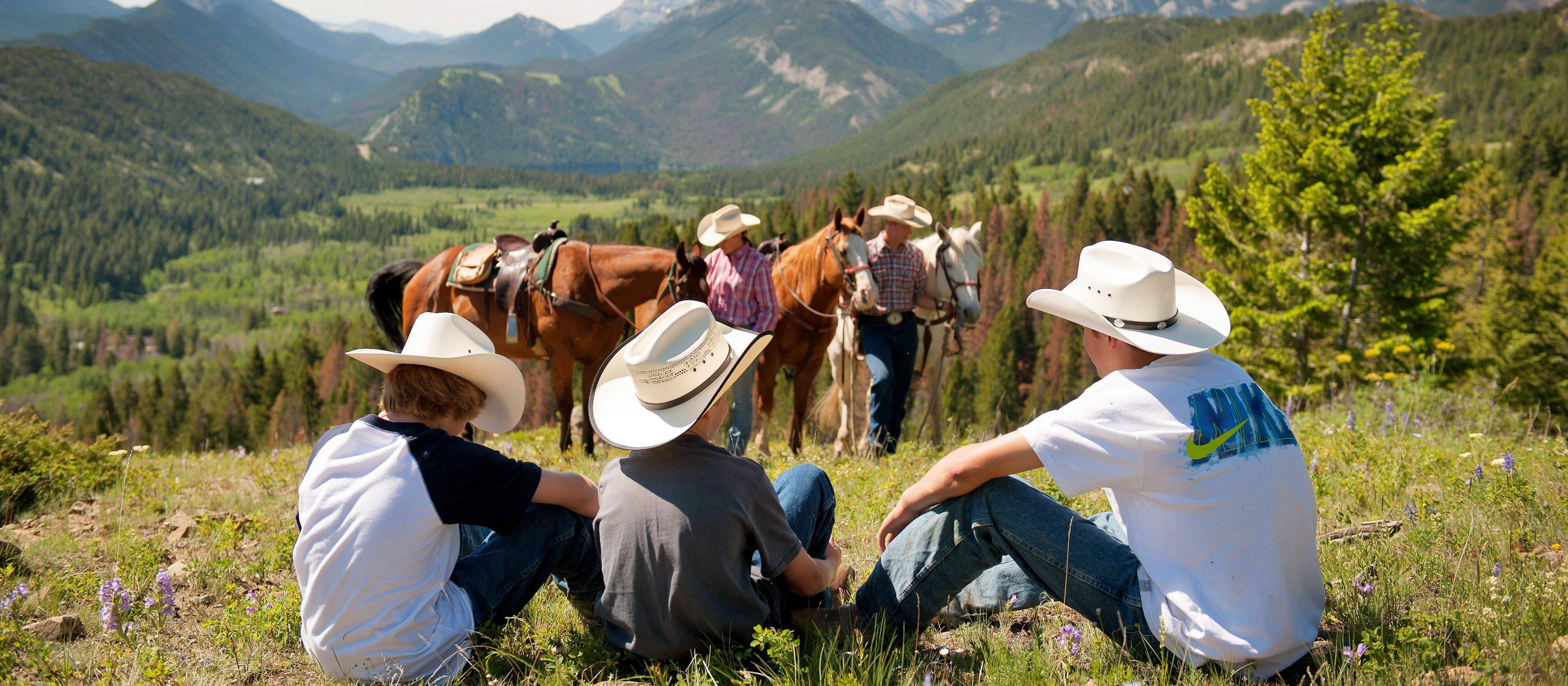 Guest Ranches Trail Ride, Montana
