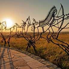 Indian Memorial am Little Bighorn