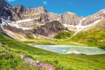 Der Glacier National Park in Montana