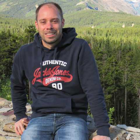 CANUSA Mitarbeiter Torben Kaufmann im Glacier-Nationalpark in Montana