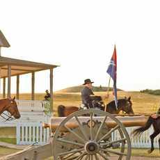 Show im Fort Abraham Lincoln