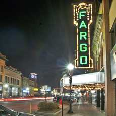 Das Theater in Fargo, North Dakota