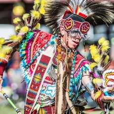 Impressionen des United Tribes Pow Wow in North Dakota