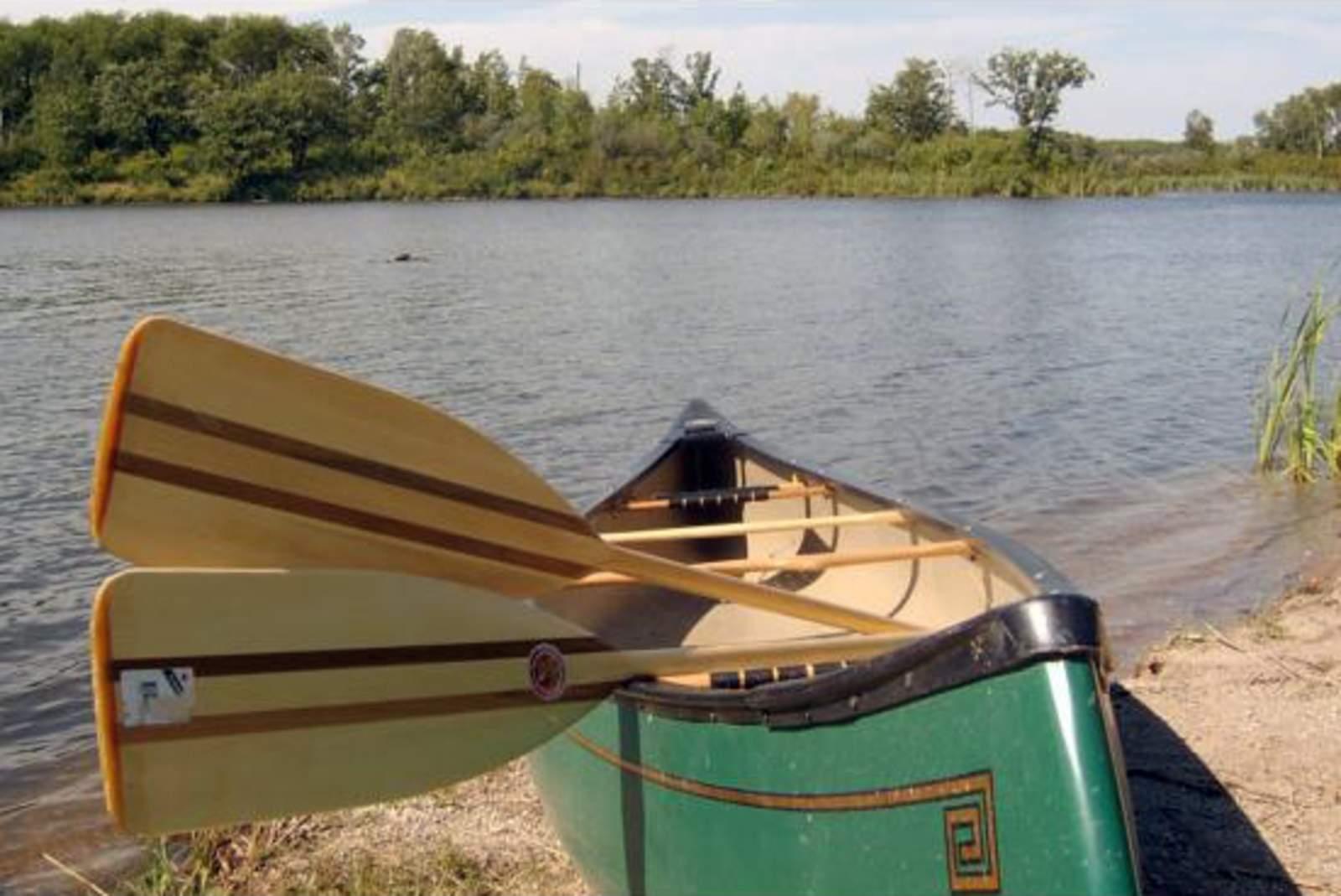 Kanufahren am Lake Metigoshe