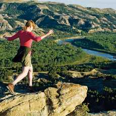 Wandern im Theodor Roosevelt National Park