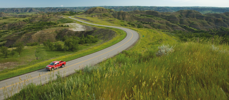 Fahrt durch North Dakota