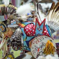 Impressionen des Sisseton Wahpeton Oyat, South Dakota