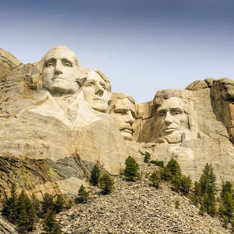 Mount Rushmore am Tag
