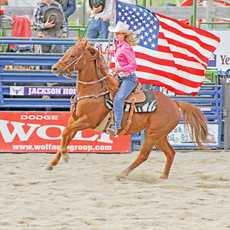 Rodeo in Jackson Hole