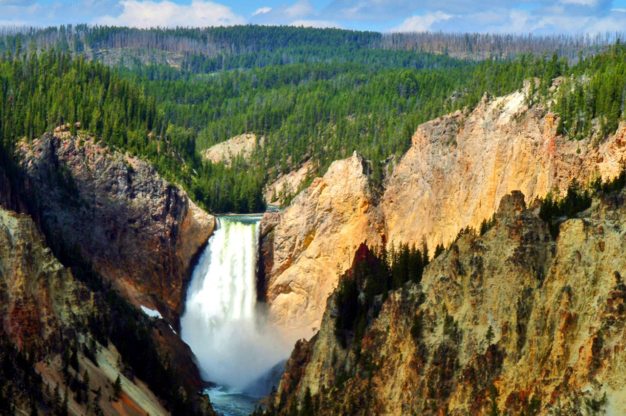 Yellowstone National Park US National Park Service