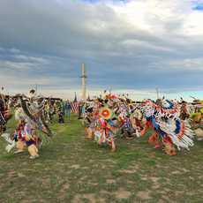 Ein Pow Wow Festival in Wyoming