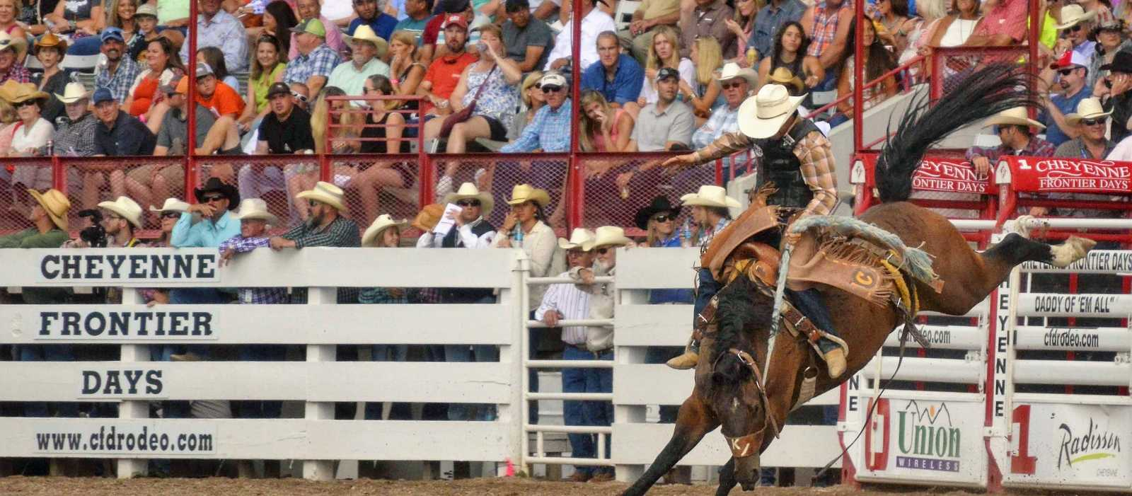 Impressionen der Cheyenne Frontier Days in Wyoming