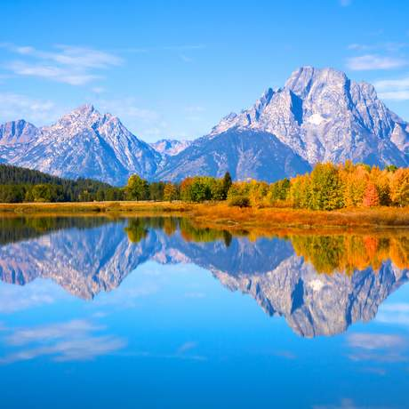 Grand Tetons Nationalpark, Wyoming