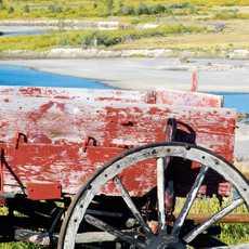 Alte Kutsche in Montana