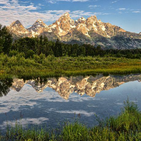 Impressionen aus dem Grand Teton Nationalpark in Wyoming