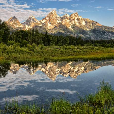 Impressionen aus dem Grand Teton Nationalpark in Wyoming