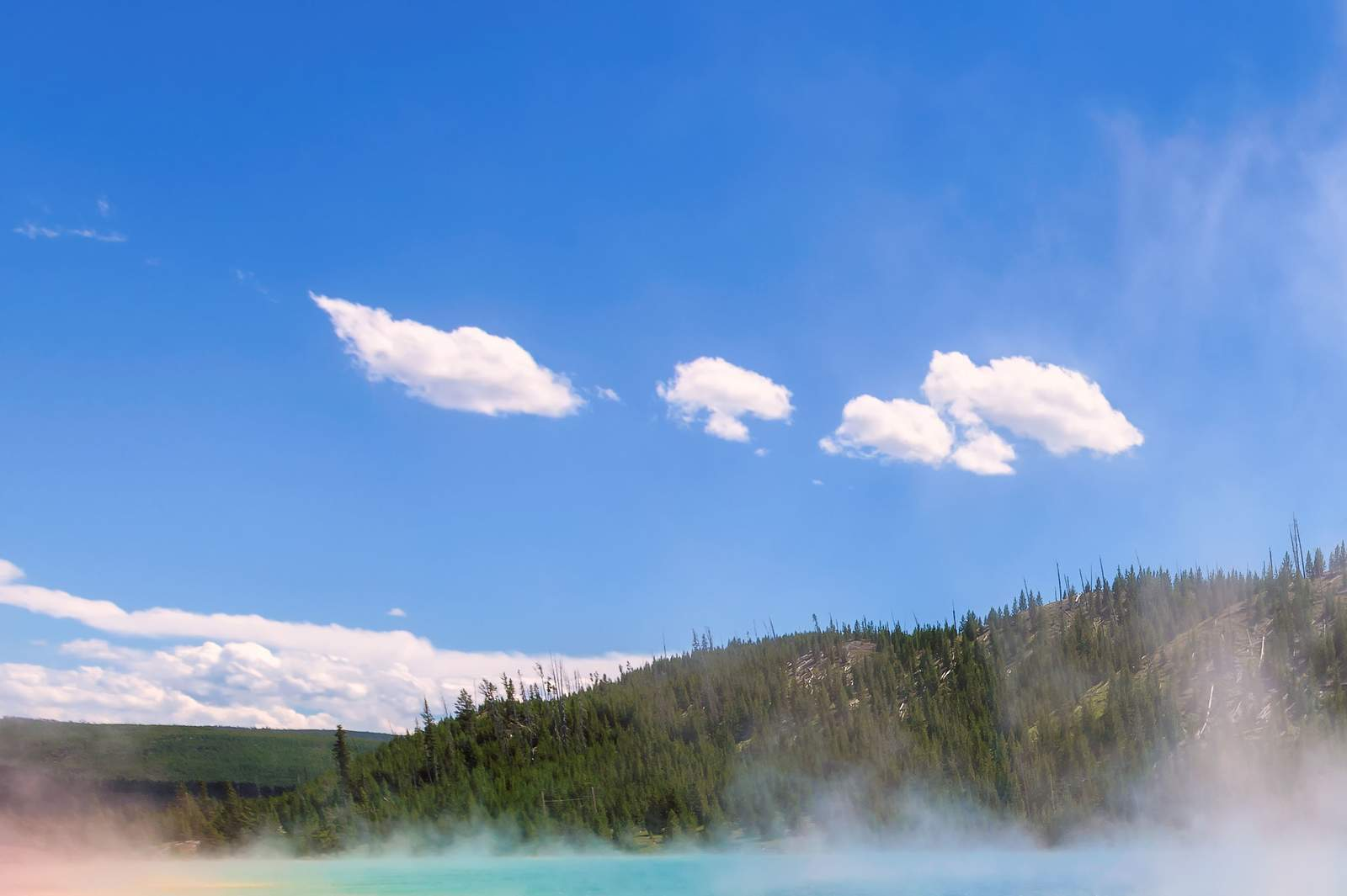 Grand Prismatic Spring im Yellowstone National Park