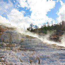 Mammoth Hot Springs, Wyoming