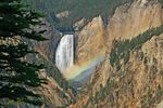 Wasserfall im Yellowstone National Park