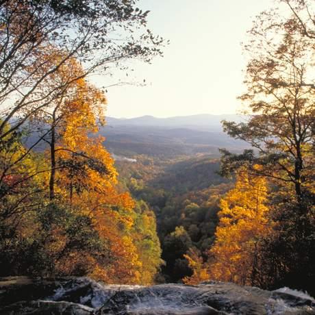 Herbstlandschaft in Georgia