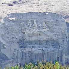 Relief im Stone Mountain Park