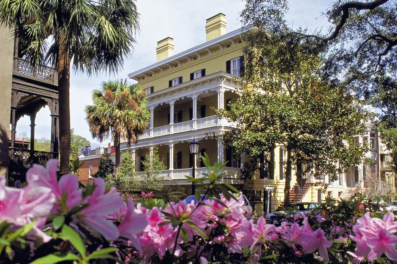 Südstaaten-Haus in Savannah