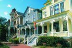 Häuserzeile in Savannah