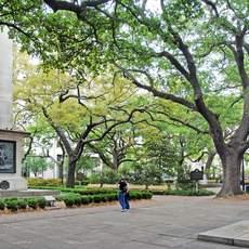 Im Historic District von Savannah
