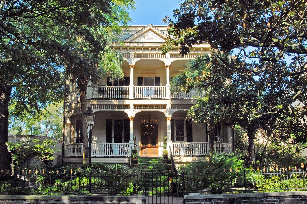 Südstaatenhaus in Savannah