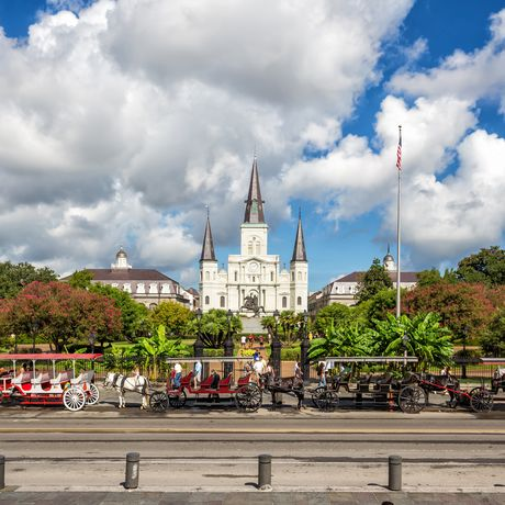St. Louis Cathedral, New Orleans, Louisiana