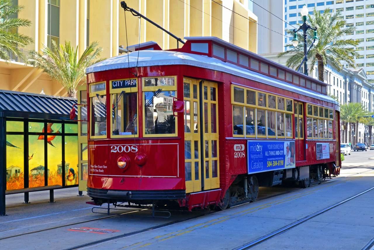 Streetcar in der Canal Street