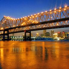 Abendstimmung am Mississippi