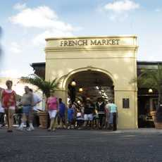 French Market in New Orleans, Luisiana
